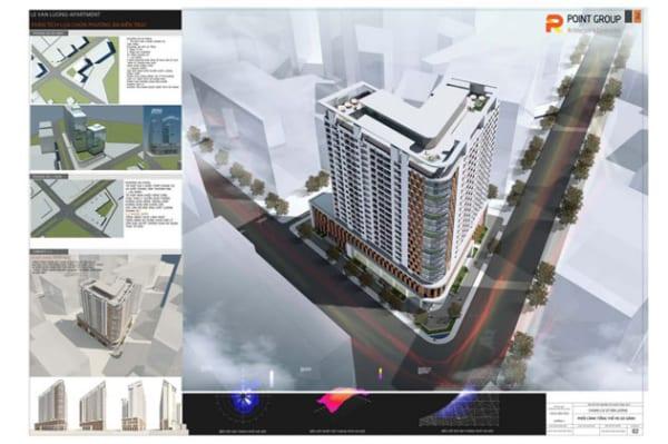 Tổ hợp TTTM-chung cư cao cấp Lê Văn Lương