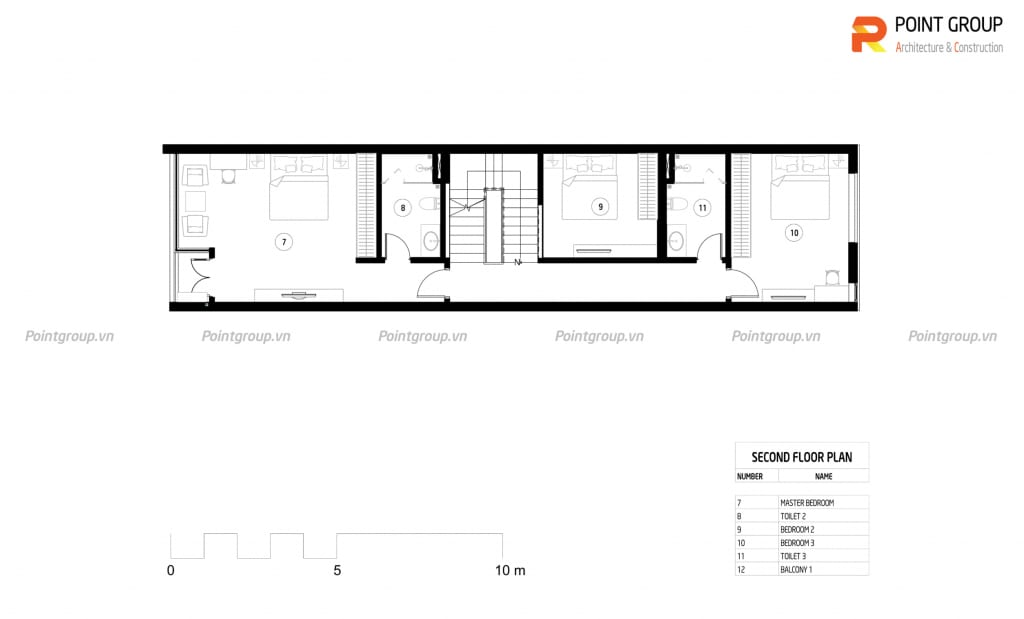 Thiết kế nhà phố 3 tầng - Hải Dương