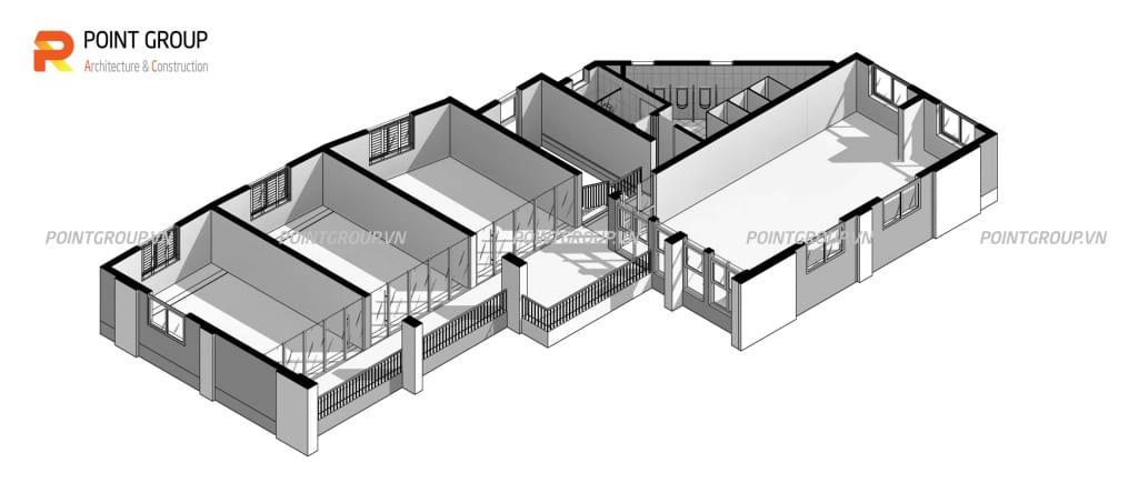 Thiết kế nhà thí nghiệm Đại học Thủy Lợi