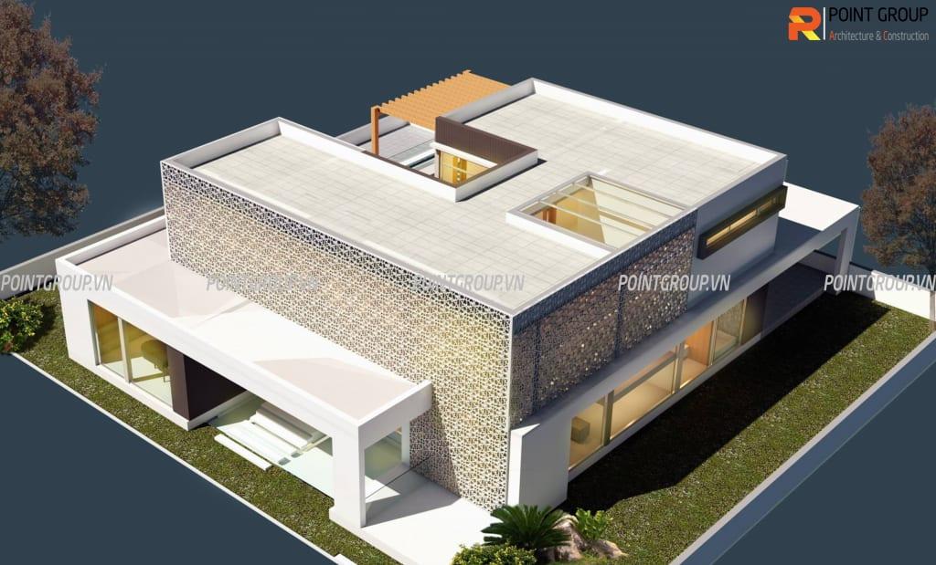 Thiết kế biệt thự nhà Mr.Cường - Nam Định