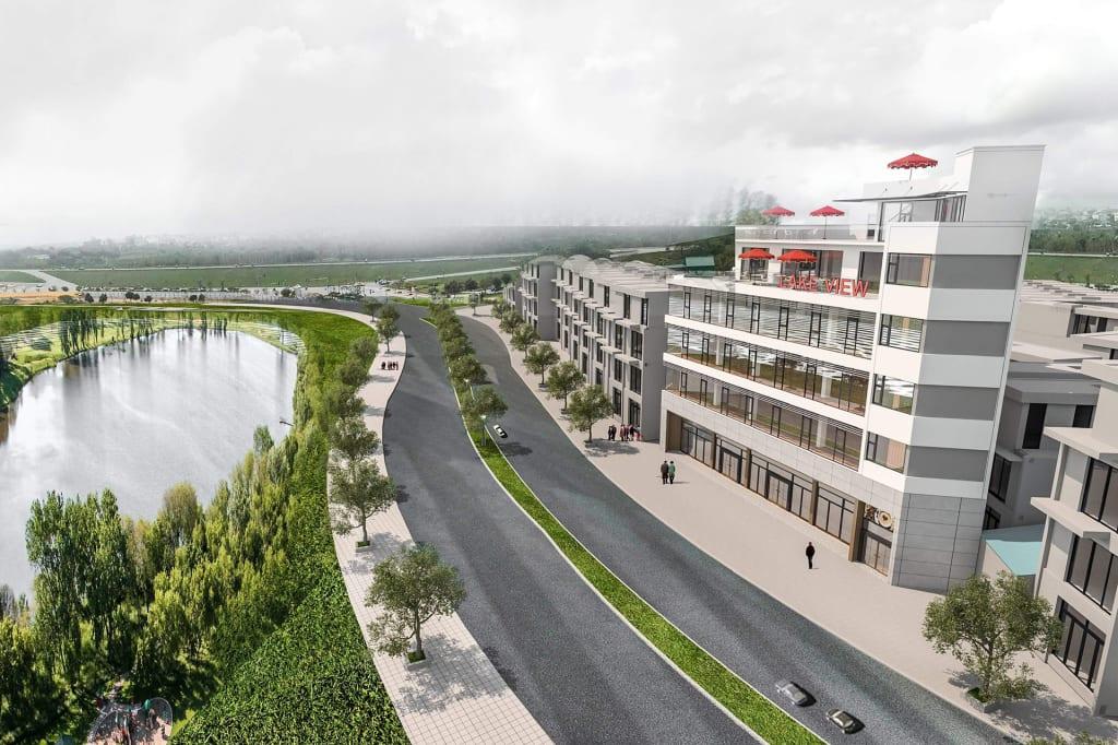 Dự án văn phòng cho thuê mặt phố Long Biên
