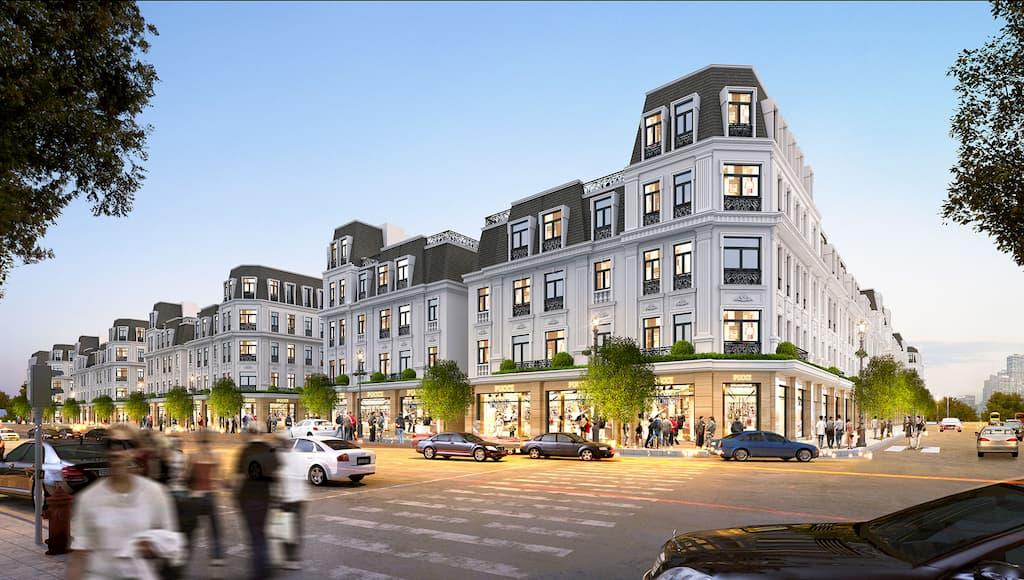 Dự án nhà thấp tầng - Hoàng Huy Mall