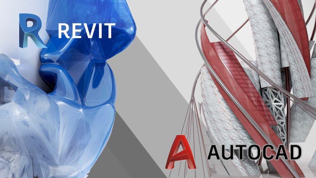 điểm khác biệt giữa Revit và AutoCAD