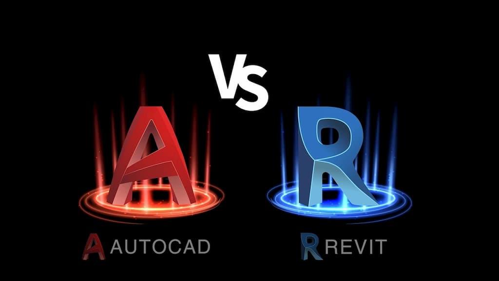 khác biệt giữa Revit và AutoCAD