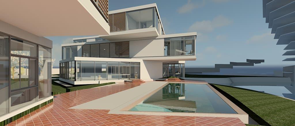 Thiết kế nhà điều hành khách sạn JW Mariot