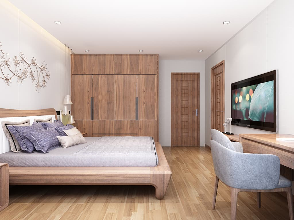 Thiết kế nội thất biệt thự nhà anh Thụy