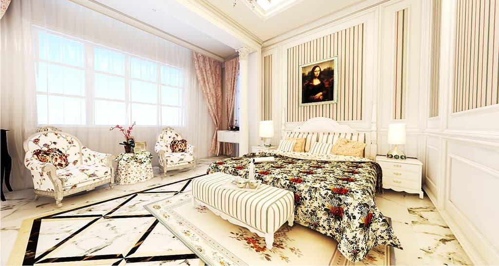 Thiết kế nội thất biệt thự nhà Mr Bang - Thái Nguyên