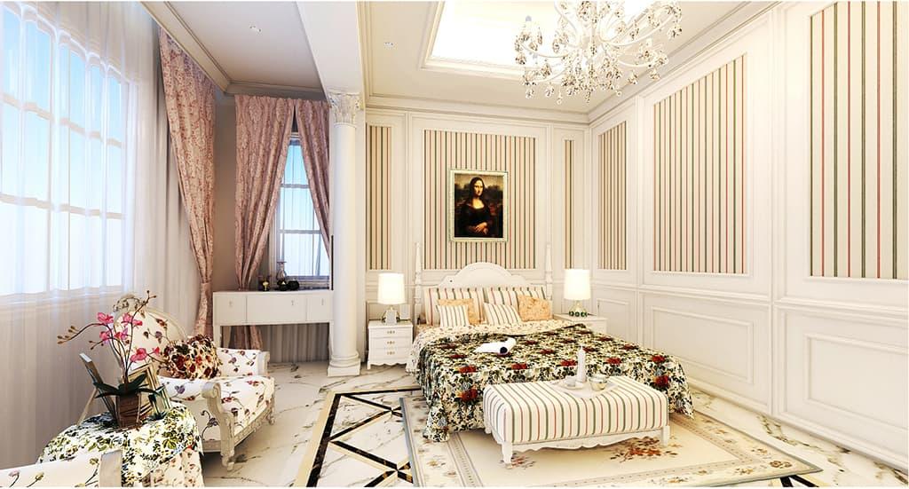 Thiết kế nội thất phòng ngủ nhà Mr Bang