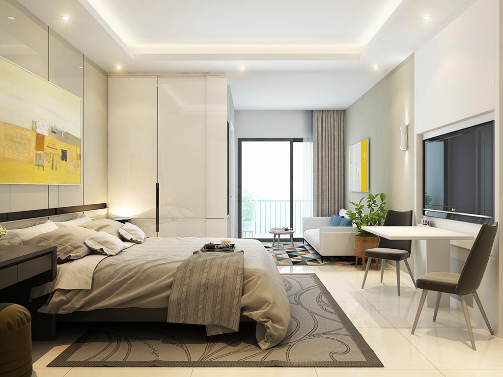 Thiết kế nội thất căn hộ mini cao cấp