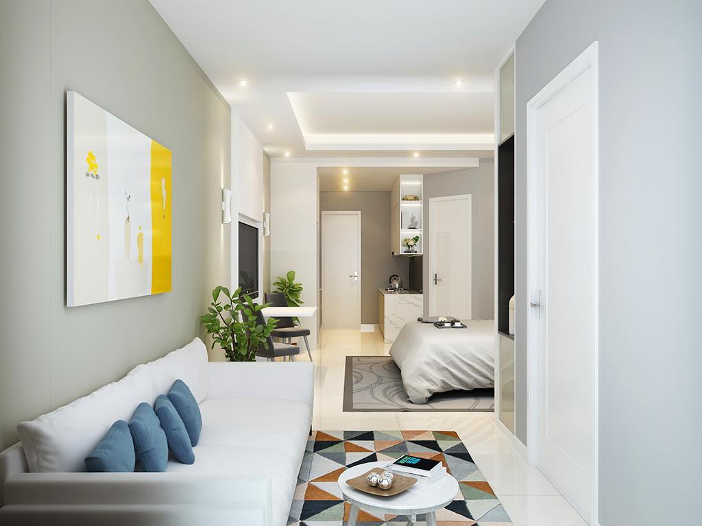 """""""Thiết kế nội thất căn hộ mini cao cấp"""