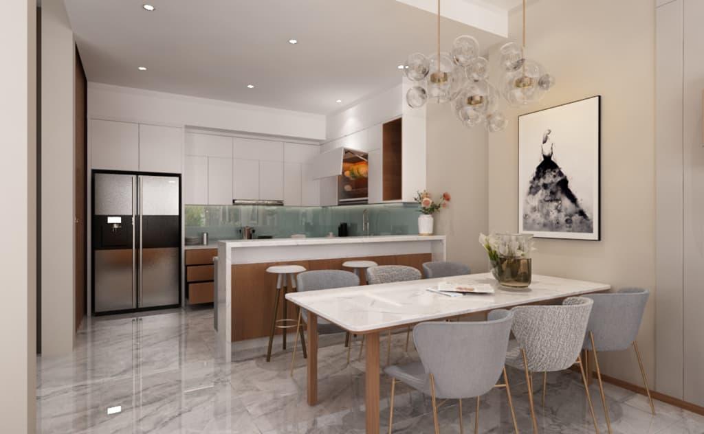 Thiết kế nội thất nhà Mr Hai - Hải Dương