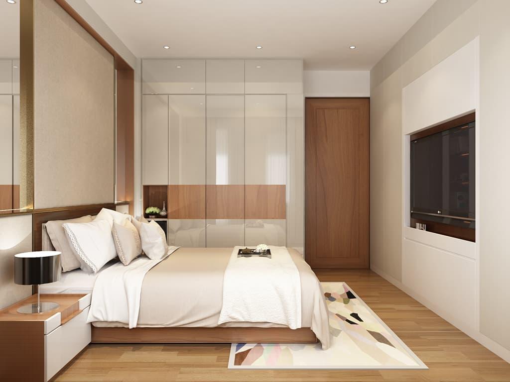 Thiết kế nội thất phòng ngủ nhà Mr Hai
