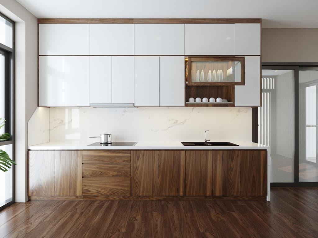 Nội thất phòng bếp tầng 2