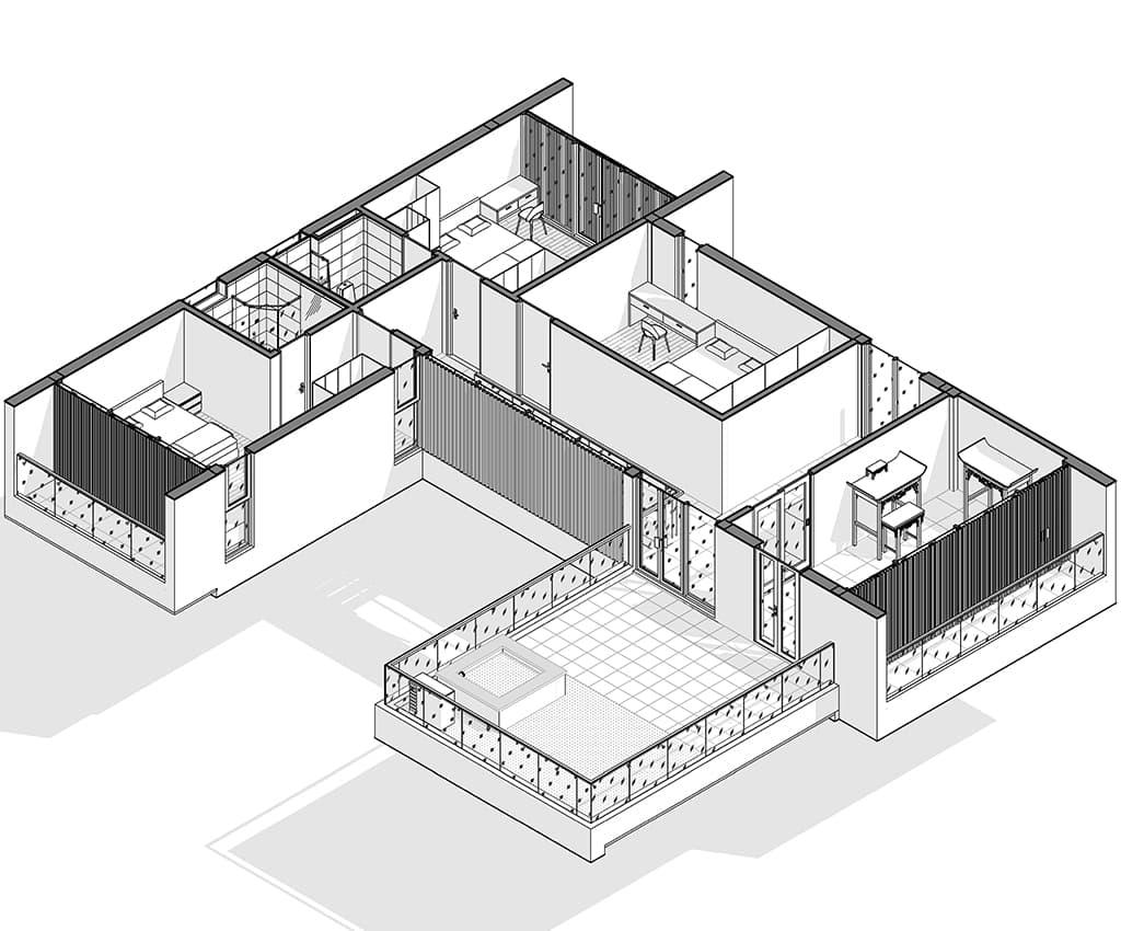 Thiết kế kiến trúc và nội thất biệt thự nhà Ms May