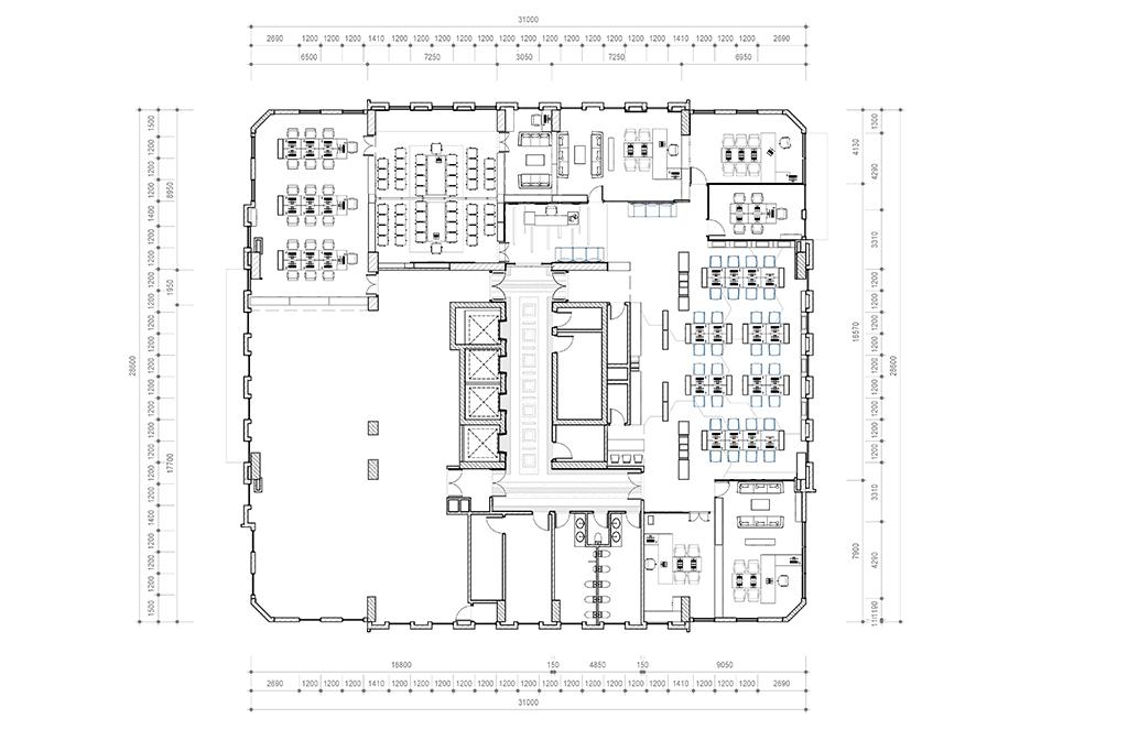 Nội thất văn phòng 119 Hồ Tùng Mậu