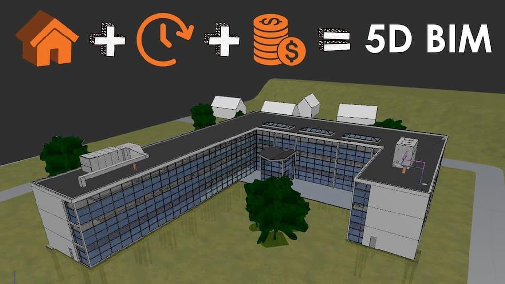Quản lý khối lượng BIM: Ứng dụng mô hình BIM 5D