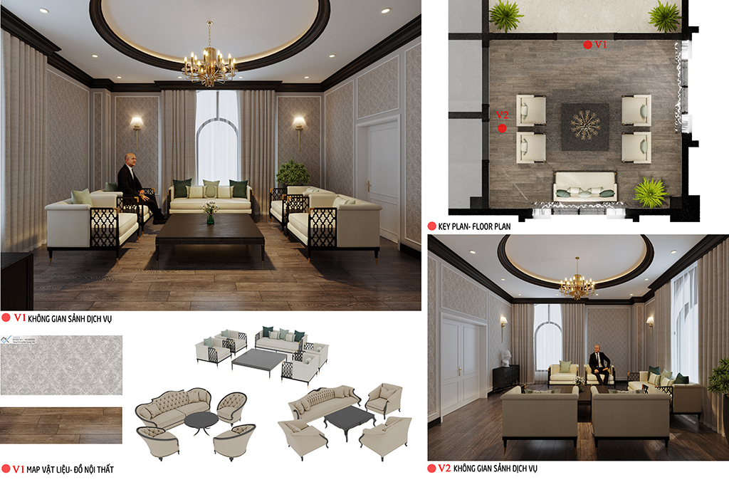 Thiết kế nội thất APG Hotel - Thanh Hóa