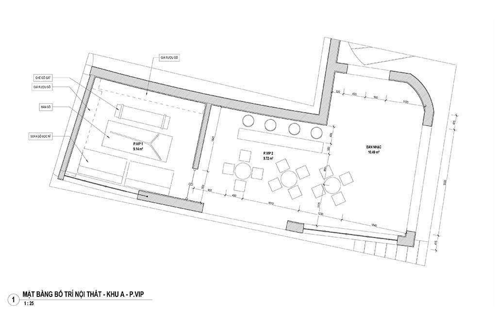 Thiết kế bar - Cung Xuân