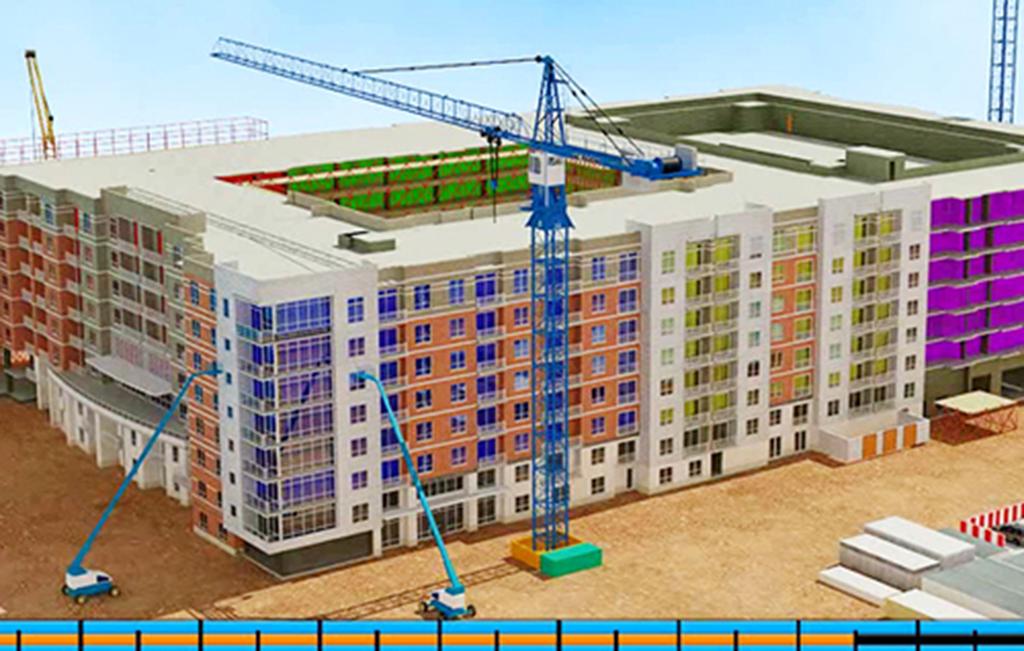 4D simulation - Mô phỏng 4D trong ngành kiến trúc