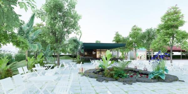 Cải tạo nội ngoại thất nhà ăn bệnh viện Thanh Hà